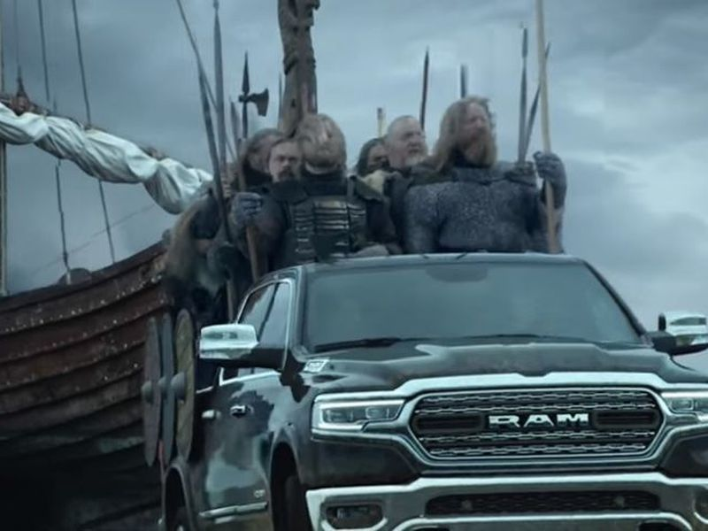 The Vikings-  a commercial laden with references to the Icelandic Vikings, mythology and of course, the Minnesota Vikings.