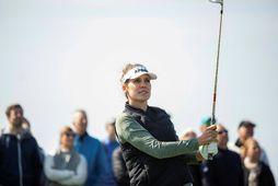 Ólafía Þórunn Kristinsdóttir hefur tvívegis tekið þátt á Opna bandaríska meistaramótinu í golfi.