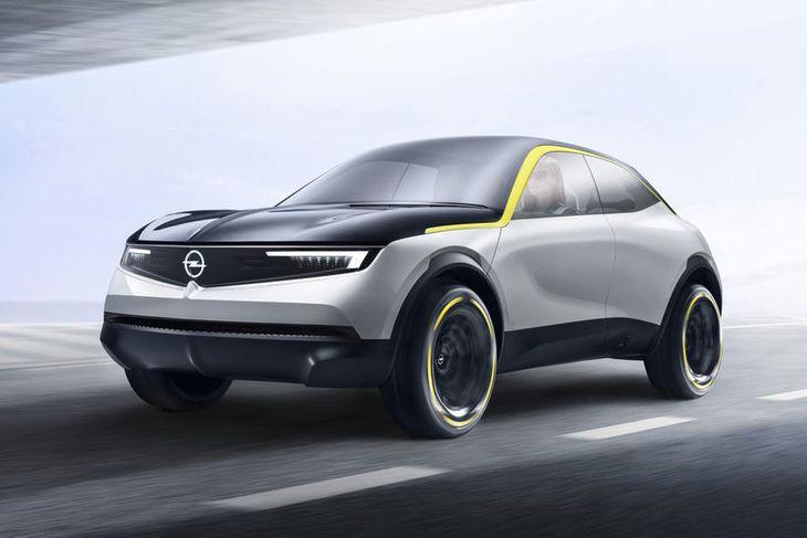 Í Opel GT X Experimental er að finna vísbendingar um það sem koma skal í ...