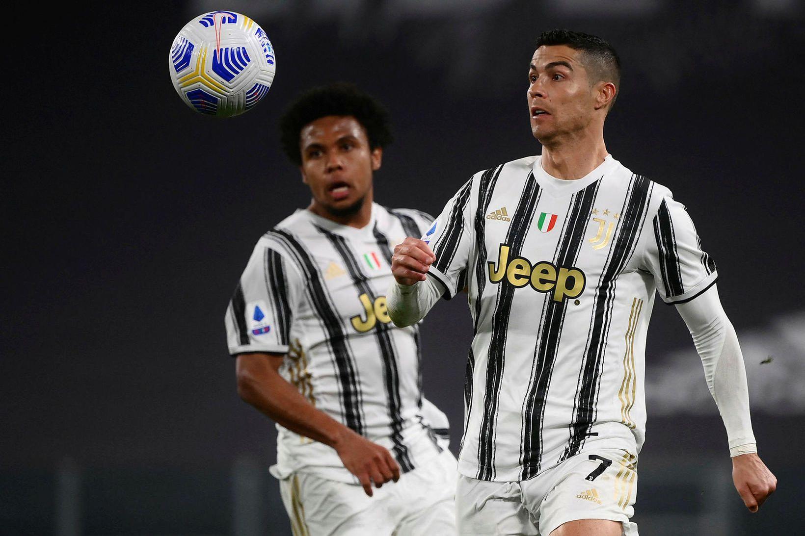 Cristiano Ronaldo í leik gegn Parma í vikunni.