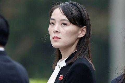 Kim Yo Jong árið 2019.