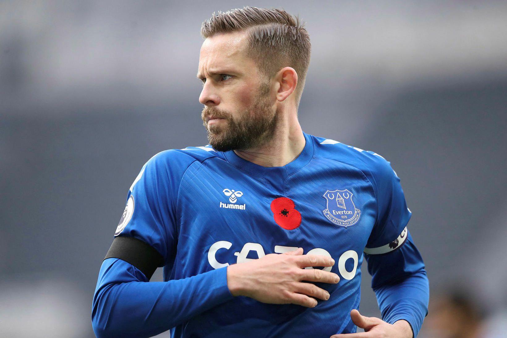 Gylfi Þór Sigurðsson leikur með Everton.