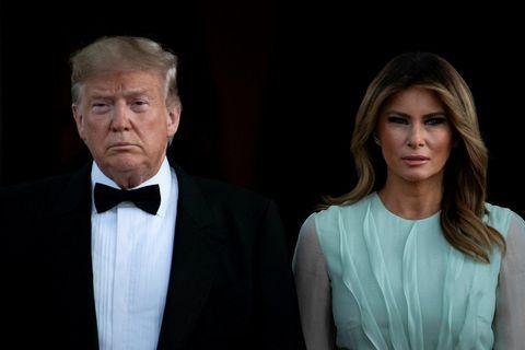 Donald Trump Bandaríkjaforseti og forsetafrúinn Melania Trump. Hvíta húsið pantaði ráðstefnusal í húsakynnum Sameinuðu þjóðanna ...