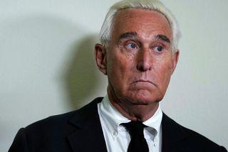 Roger Stone var einn nánasti ráðgjafi Donalds Trump Bandaríkjaforseta um tíma.