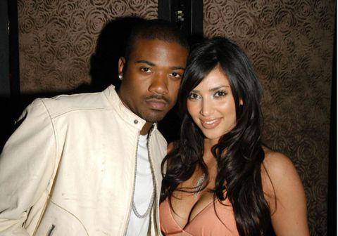 Fyrrverandi parið Kim Kardashian og Ray J.