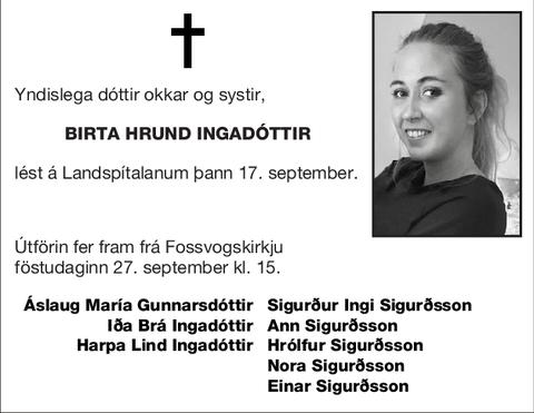 Birta Hrund Ingadóttir