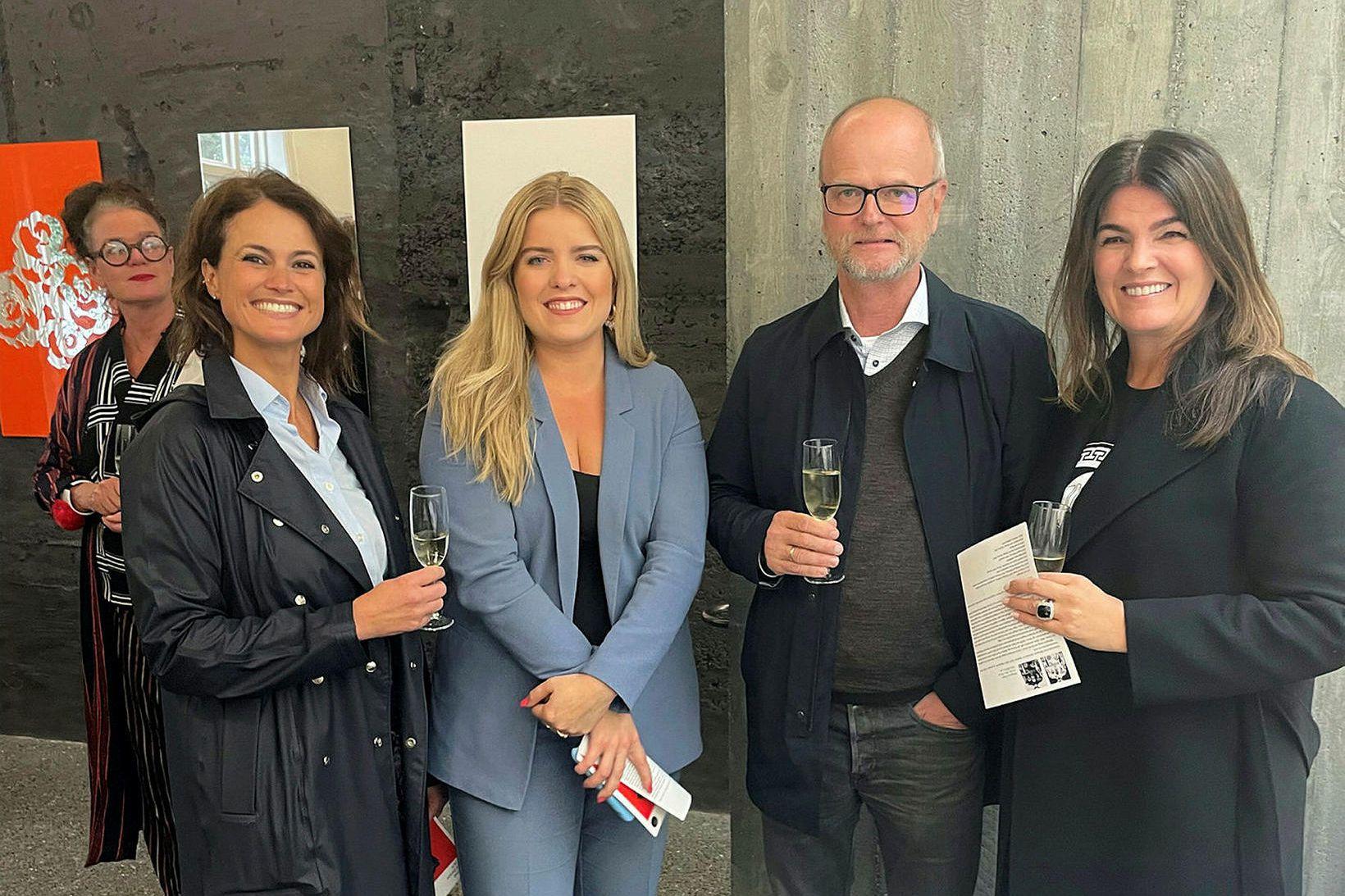 Inga Lind Karlsdóttir, Áslaug Arna Sigurbjörnsdóttir, Árni Hauksson og Þóra …