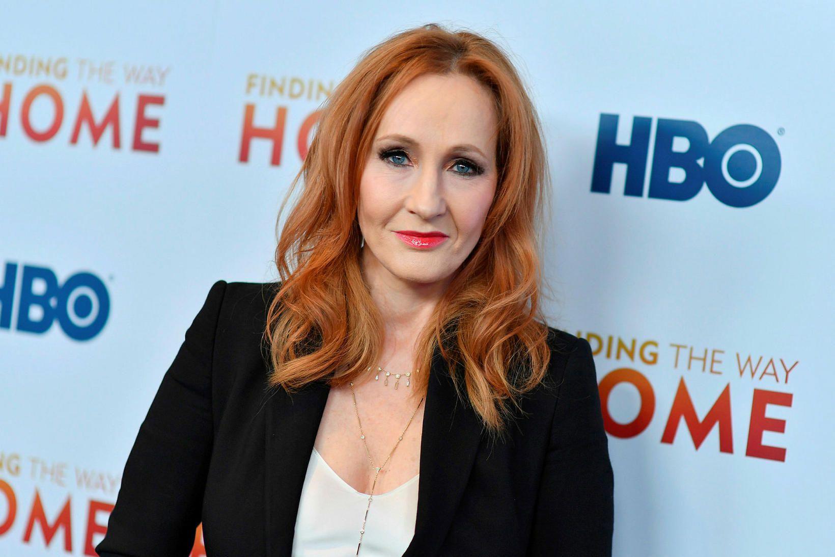J.K. Rowling, höfundur Harry Potter bókanna.