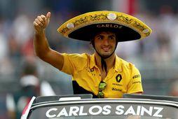 Carlos Sainz ætti að vera á mun betri Renaultbíl á næsta ári.