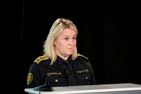 Sigríður Björk Guðjónsdóttir ríkislögreglustjóri.