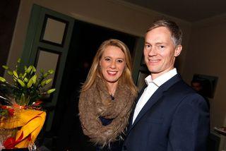 Þorbjörg Helga Vigfúsdóttir og Hallbjörn Karlsson.