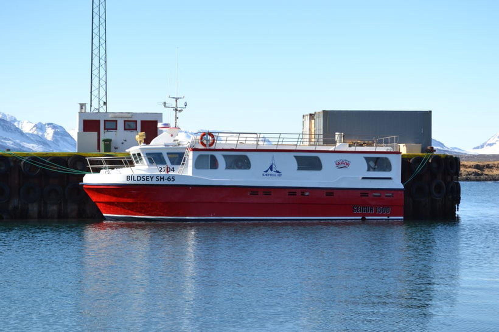 Skipverjunum var sagt upp störfum á Bíldsey SH-65 fljótlega eftir …