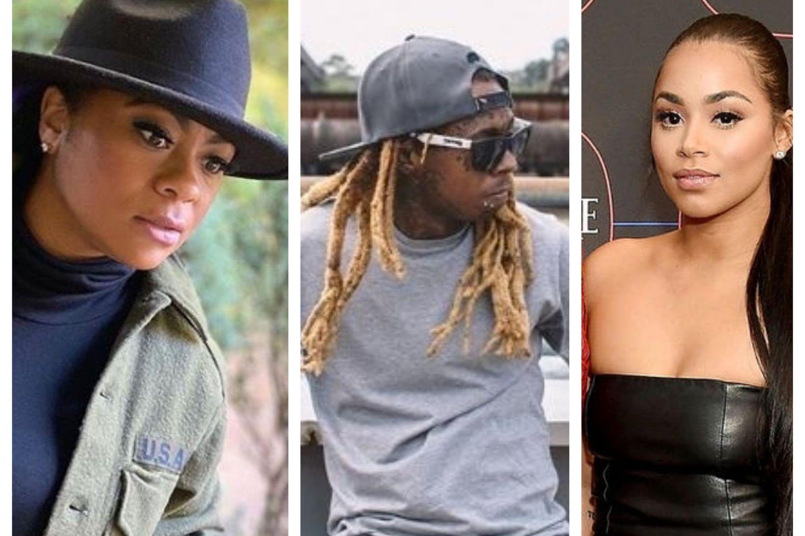 Þær Nivea og Lauren London eiga börn með Lil Wayne …