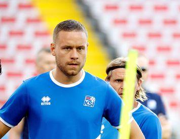 Sverrir Ingi Ingason var á skotskónum í Rússlandi í dag.