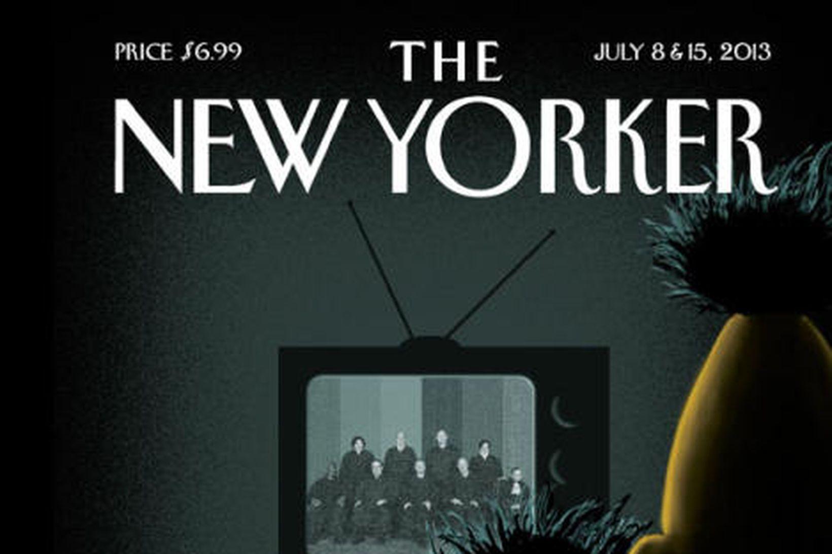 Félagarnir Bert og Ernie eru á forsíðu The New Yorker …