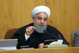 Hassan Rouhani, forseti Írans.