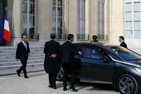 President Hollande.