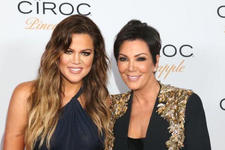 Khloé Kardashian og Kris Jenner eru í vorhreingerningum.