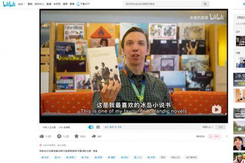 Valli slær í gegn í Kína