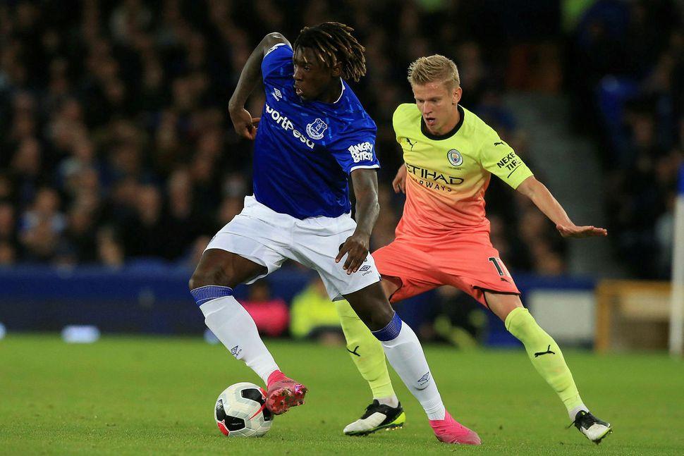 Moise Kean hefur ekki fengið mörg tækifæri í liði Everton.