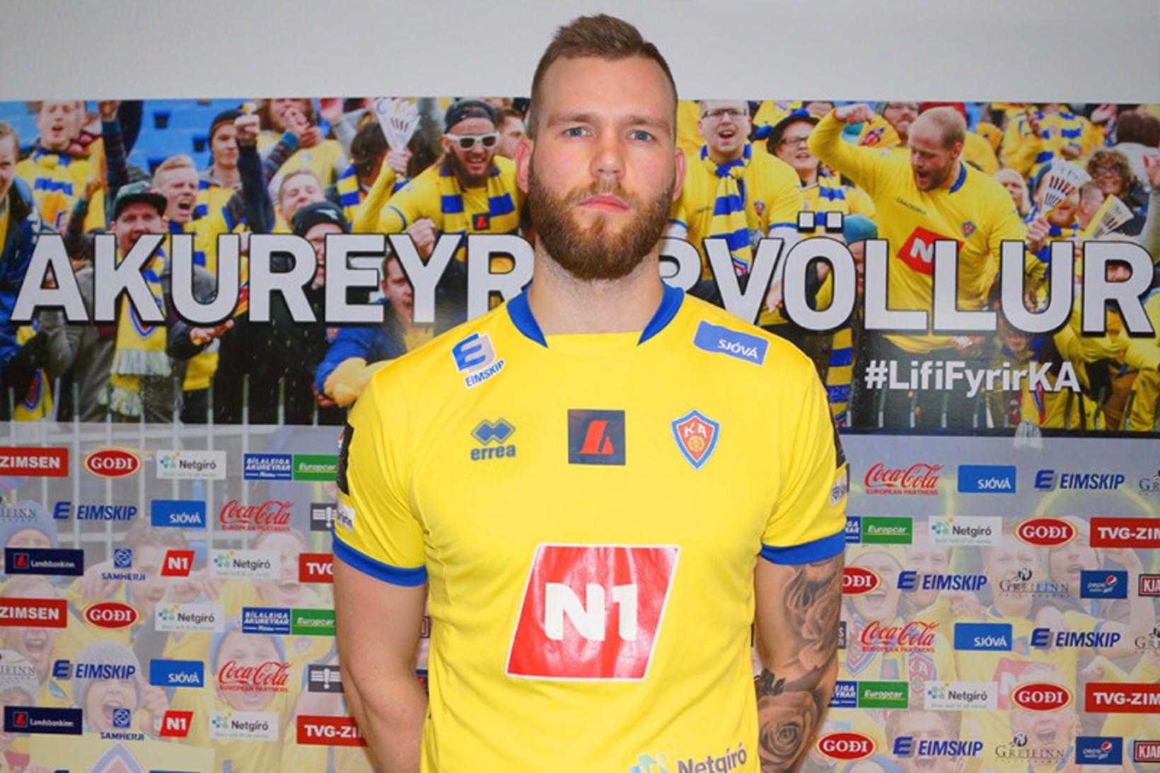 Gunnar Örvar Stefánsson skoraði tvö á Möltu.