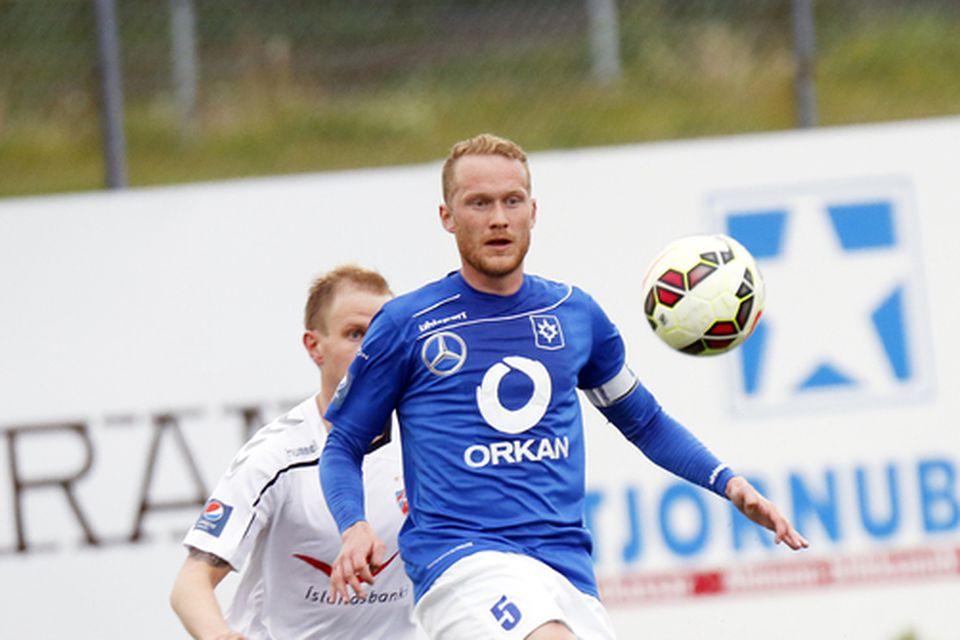 Michael Præst, miðjumaður og fyrirliði Stjörnunnar, er kominn til KR-inga.