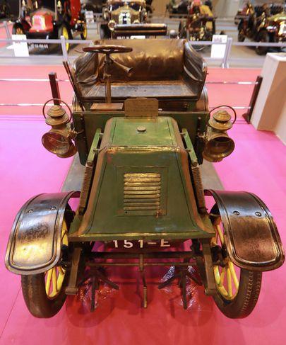 Voiturette Renault, Type D frá 1901, á Retromobile sýningunni í París.