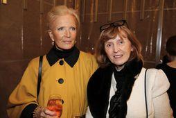 Ólöf Karlsdóttir og Edda þórarinsdóttir.