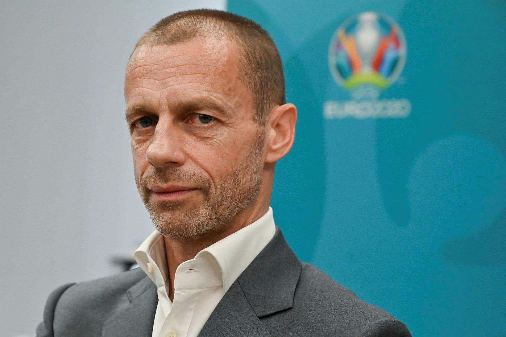 Aleksander Ceferin er forseti UEFA.