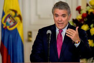 Iván Duque, forseti Kolumbíu.