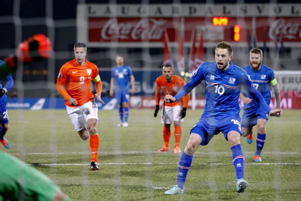 Ísland - Holland