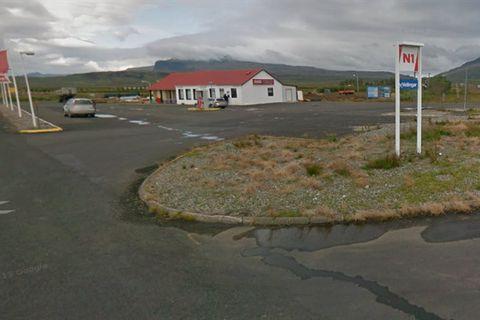 Borgarnes - Bus Stop (N1) - Strætó