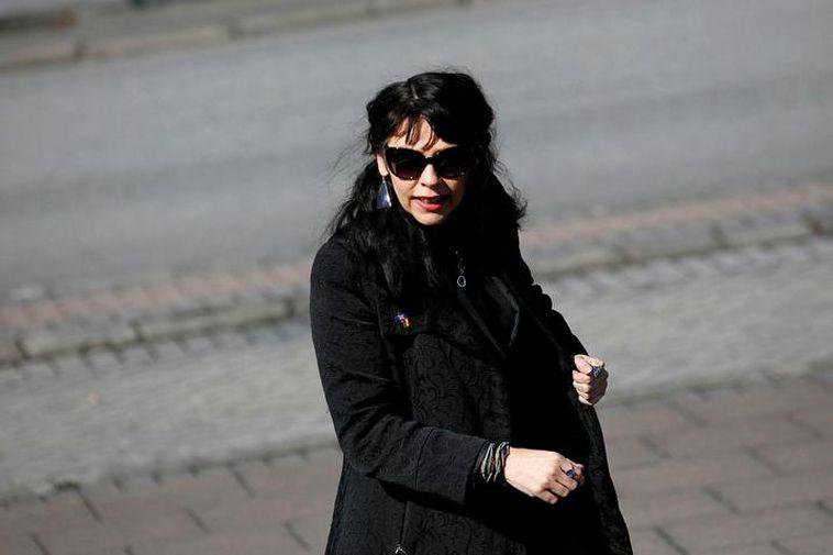 Birgitta Jónsdóttir of the Icelandic Pirate Party.