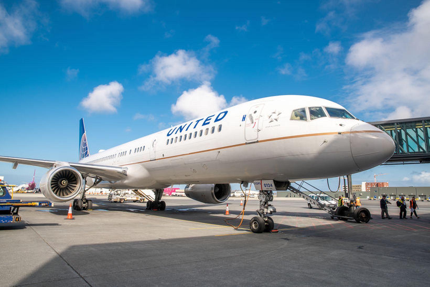 Vél United Airlines þurfti að lenda í Denver vegna ringulreiðar …