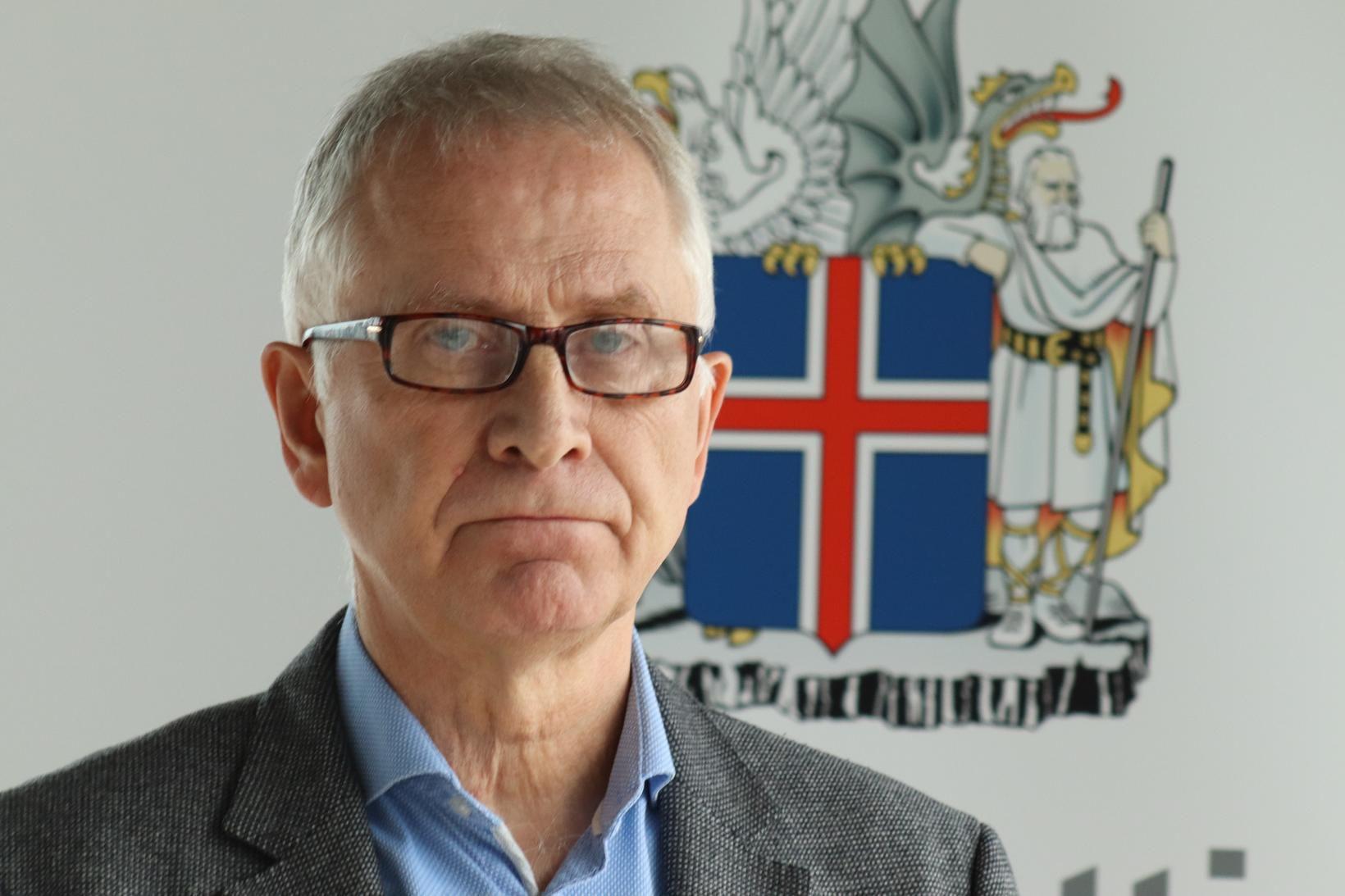 Þórólfur Guðnason sóttvarnalæknir var gestur Kastljóss í kvöld.