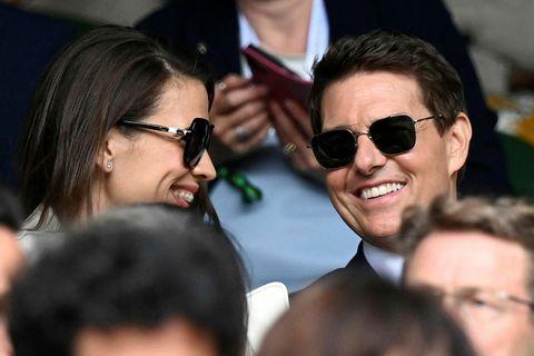 Hayley Atwell og Tom Cruise.