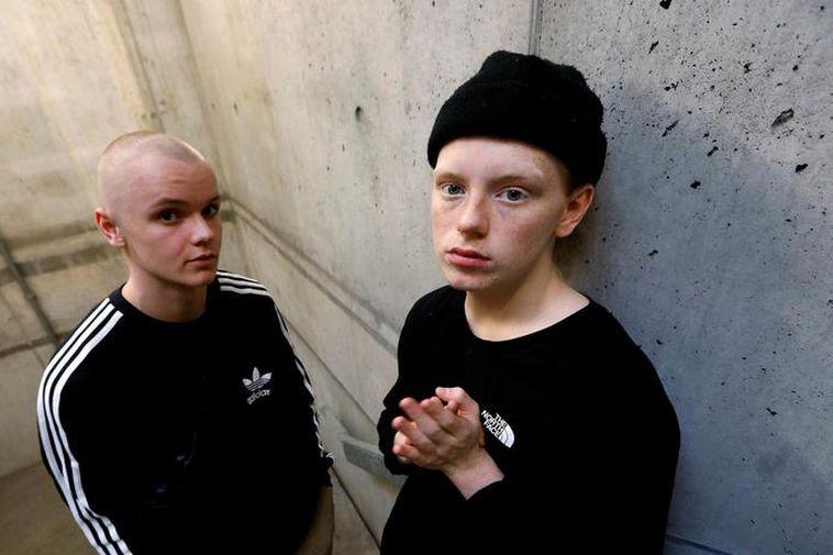 Musicians JóiPé og Króli.