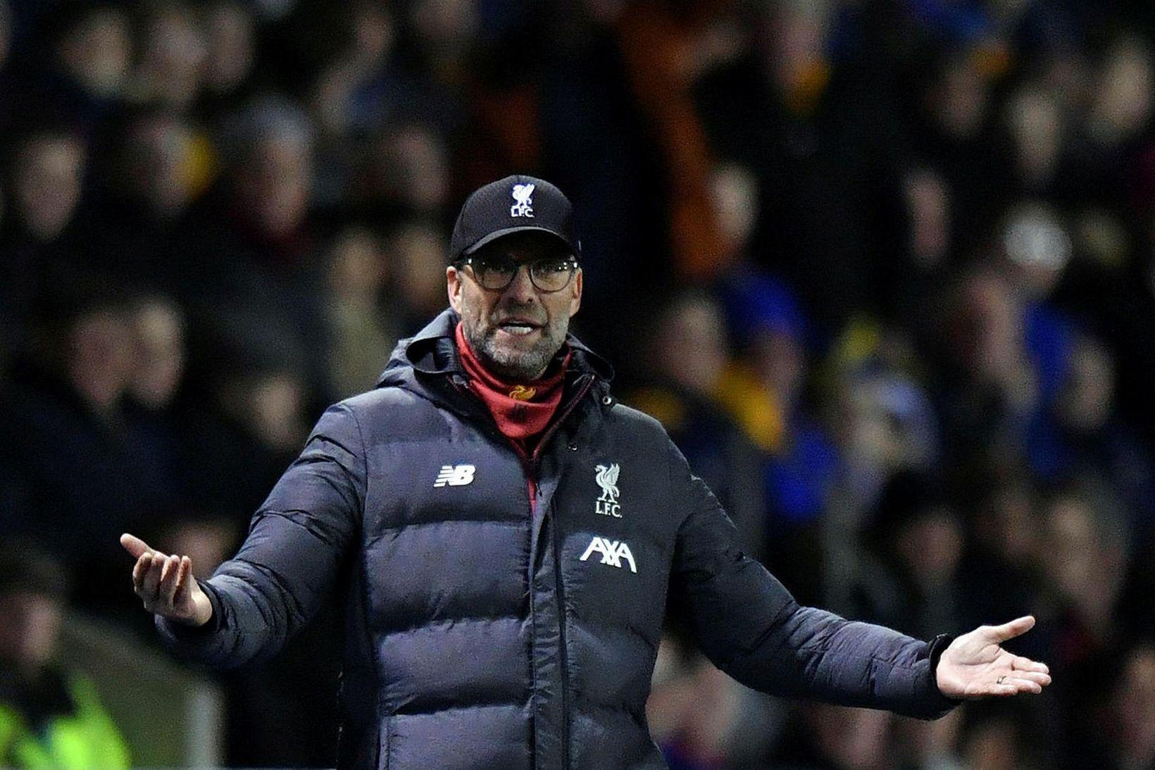 Jürgen Klopp verður ekki á hliðarlínunni þegar Liverpool mætir Shrewsbury …