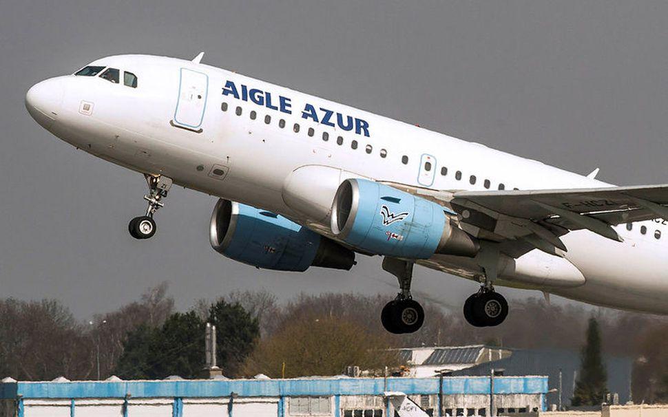 Airbus A318 þota Aigle Azur.