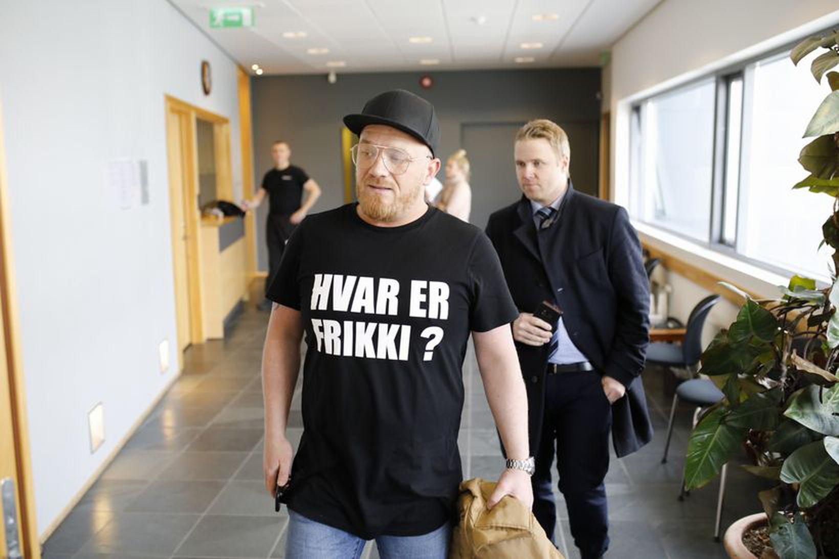 Atli Már Gylfason þarf að greiða Guðmundi 1,2 milljónir í …