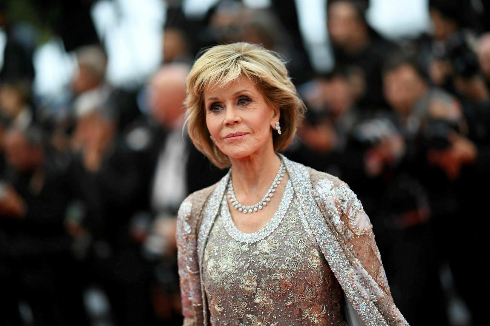 Jane Fonda flutti nýverið til Washington til að berjast fyrir …