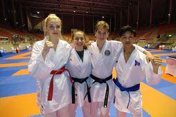 Viktoría Ingólfsdóttir, Iveta Ivanova, Hugi Halldórsson og Samuel Josh Ramos.
