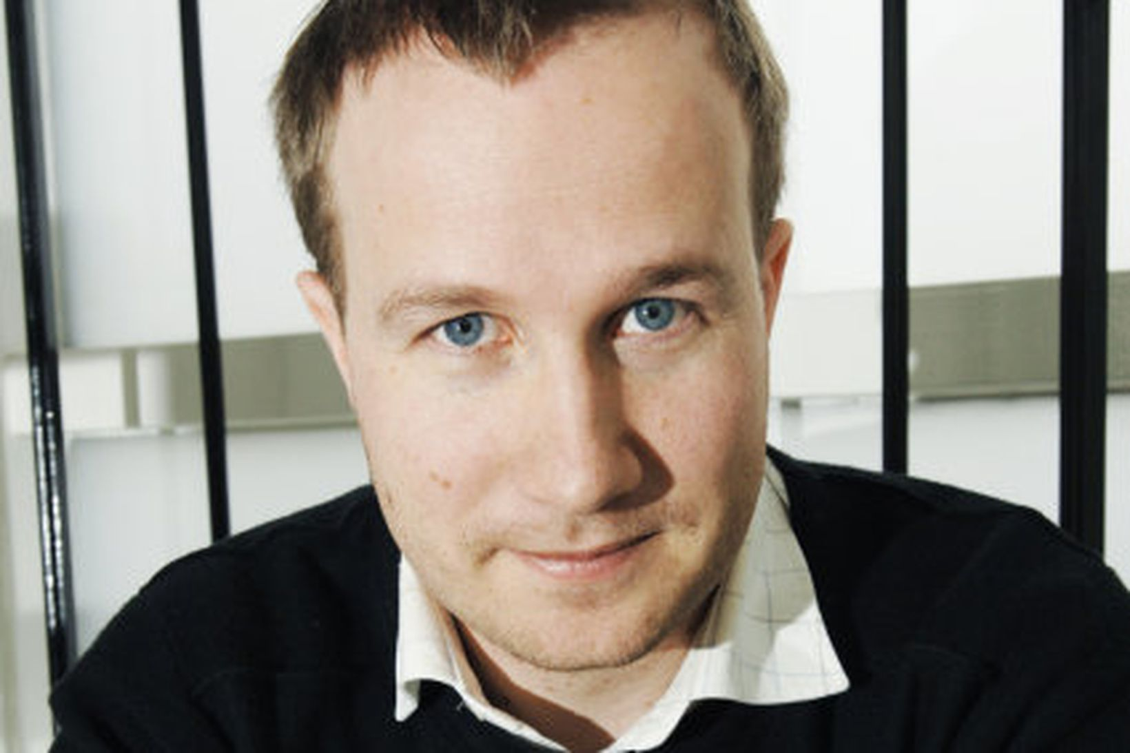 Andri Snær Magnason rithöfundur.