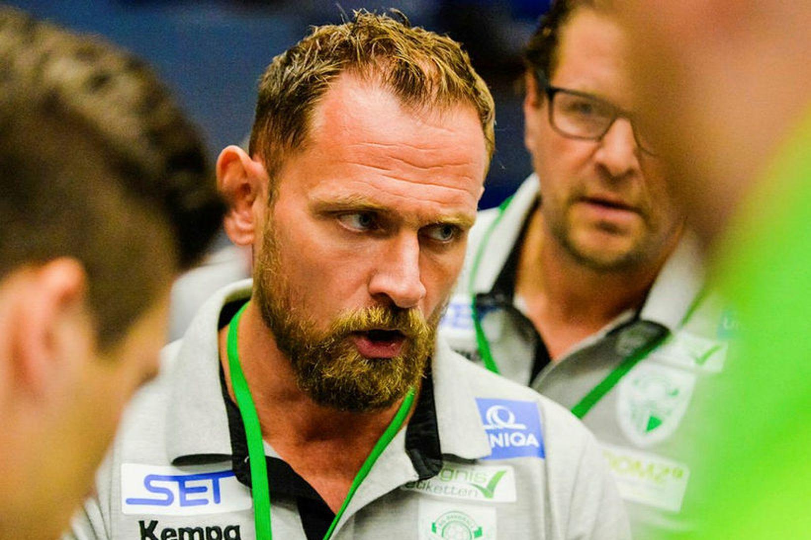 Hannes Jón Jónsson átti að taka við Selfyssingum fyrir næstu …