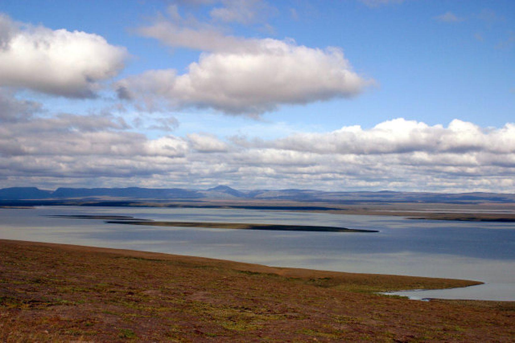 Blöndulón á Auðkúluheiði.
