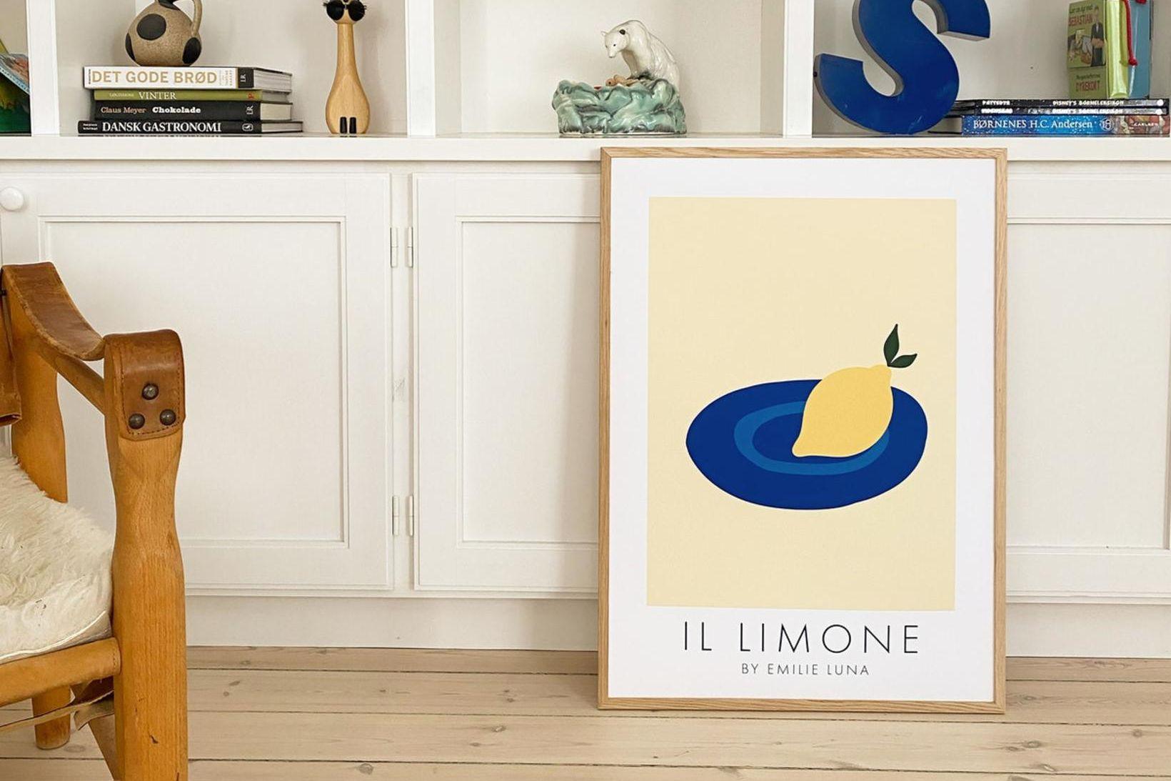 """""""Il Limone"""", 50 x 70 cm – Emilie Luna."""
