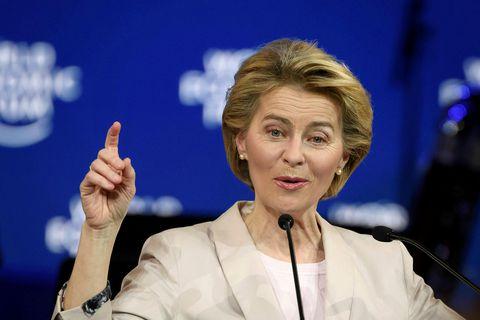Ursula von der Leyen, forseti framkvæmdastjórnar Evrópusambandsins.