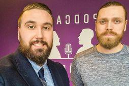 Gunnar Bersi Björnsson og Alexander Maron Þorleifsson fjalla um föðurhlutverkið í nýjum hlaðvarpsþáttum.