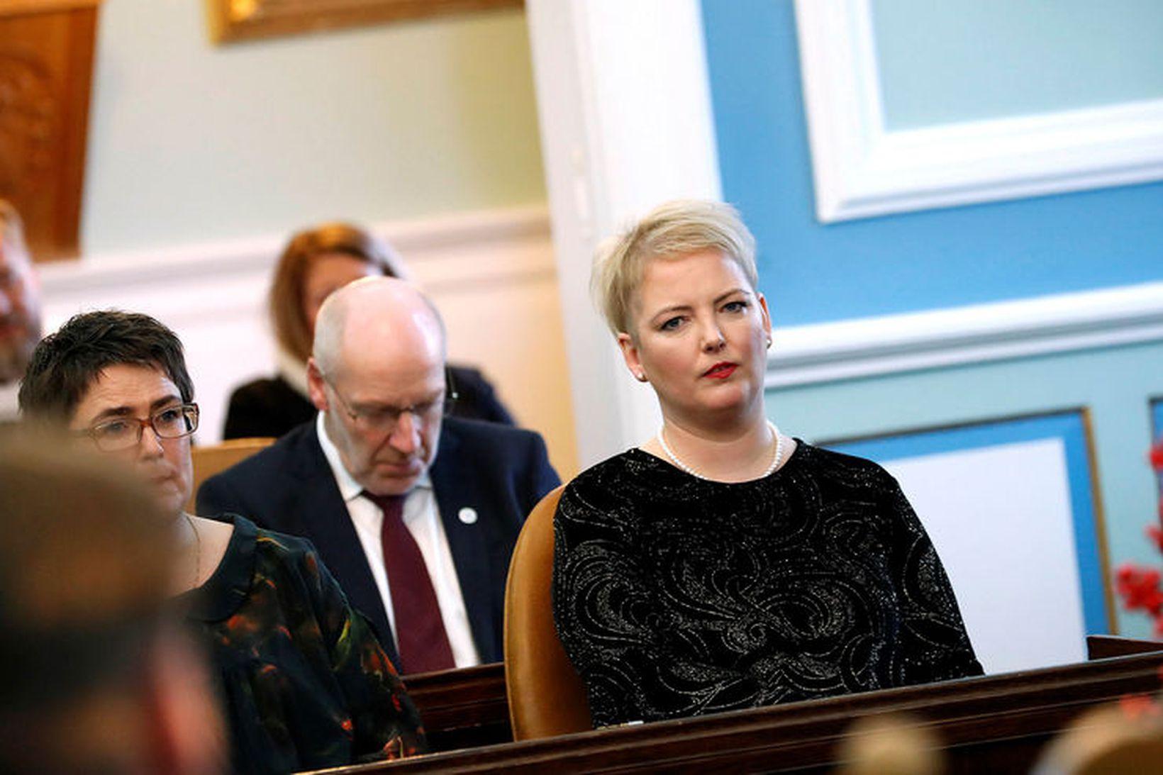 Albertína Friðbjörg Elíasdóttir, þingmaður Samfylkingarinnar.