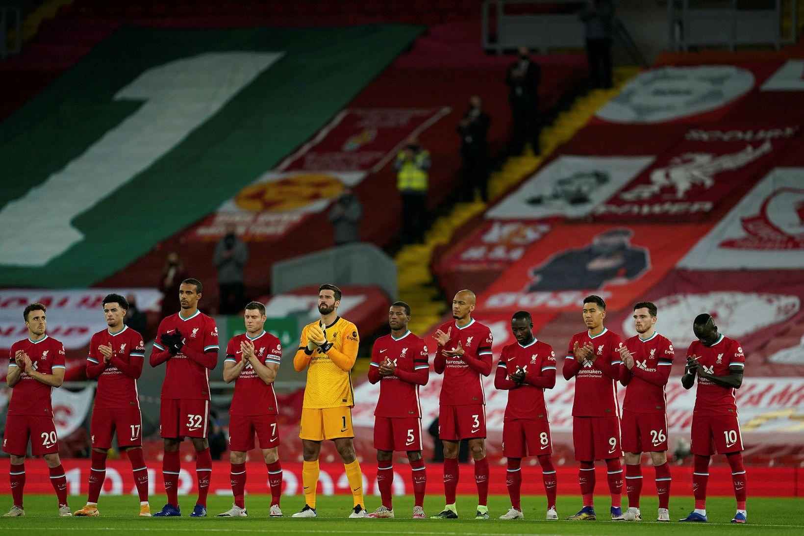 Stuðningsmenn Liverpool fá að mæta aftur á Anfield í desember.